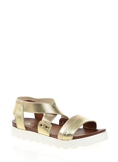 Bambi Sandalet Altın
